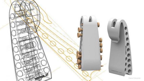 Produktentwicklung Bereich CAD für Design Teetool