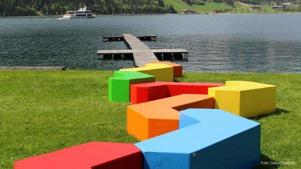 Produktdesign Stadtmöbel MART in Kombination - Umsetzung der Stadtmöbel von Q-BIQ Jenbach